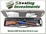 Beretta A400 Xcel 20 Ga 30in in case