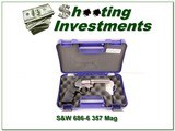 Smith & Wesson 686-6 357 4in Stainless ANIB