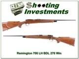 Remington 700 BDL Left-Handed 270 Win - 1 of 4