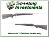 Winchester Model 70 Stainless 300 Win Mag