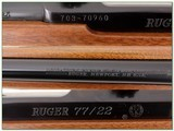 Ruger 77-22 22 Magnum as new - 4 of 4