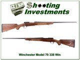 Winchester Model 70 338 Win Mag 26in Exc Cond