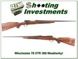 Winchester 70 XTR 300 Weatherby as new!
