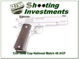 Colt Gold Cup National Match Series 80 45 ACP
