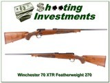 Winchester 70 XTR Featherweight 270 Win - 1 of 4