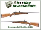 Browning A-Bolt Medallion 22-250 Remington