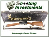 Browning A5 Sweet Sixteen 28in VR Invector ANIB!