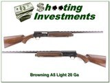 Browning A5 Light 20 26in Vent Rib IC