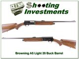 Browning A5 Light 20 24in Buck barrel - 1 of 4