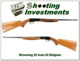 Browning 22 Auto takedown 62 Belgium Blond! - 1 of 4