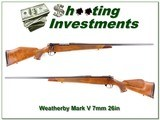 Weatherby Mark V Deluxe 7mm Wthy Mag 26in - 1 of 4