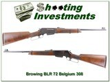Browning BLR 1972 Belgium made 308 collector condition!