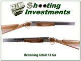 Browning Citori White Lighting Superlight 12 Gauge 24in Invector Plus - 1 of 4