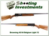 Browning A5 Light 12 64 Belgium unfired VR Mod - 1 of 4