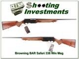 Browning BAR Safari Grade 338 Win Mag unfired - 1 of 4