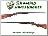 LC Smith O Model 16 Gauge 1909 made