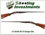 LC Smith 2E 12 Ga 32in Full & Full made in 1904!