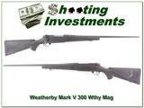 Weatherby Mark V 300 Wthy Mag Exc Cond - 1 of 4