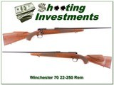 Winchester Model 70 in 22-250 Remington - 1 of 4