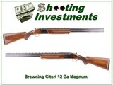 Browning Citori early 1974 Mag 12 28in F & M - 1 of 4