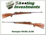 Remington 700 BDL 22-250 Pressed Checkering - 1 of 4