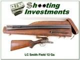 LC Smith Field 12 Ga 1949
