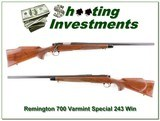 Remington 700 Varmint Special in 243 Winchester - 1 of 4