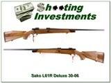 Sako L61R Finnbear Deluxe Bofer Steel unfired 30-06 - 1 of 4