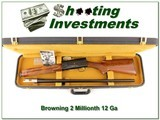 Browning A5 Light 12 Belgium 2 Millionth in case! - 1 of 4