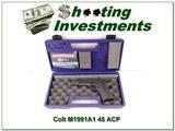 Colt M1991A1 Series 80 45 ACP NIC