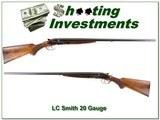 LC Smith Model 00 20 Ga made in 1911 28in F & F restored