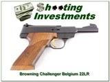 Browning Challenger 4.5in 69 Belgium Exc Cond!