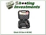 Glock 35 Gen 4 40 new & unfired in case