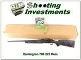 Remington 700 Tactical Cerackote 223