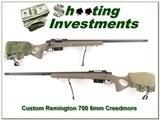 Remington 700 6mm Creedmoor Target custom