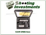 KAHR PM9 Stainless 9mm in case - 1 of 4