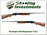 Remington 870 Wingmaster 12 Ga Exc Cond!