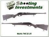 Marlin 795 Microgroove barrel 22LR 3 magazines