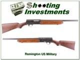 Remington Model 11 Army air corps trainer shotgun
