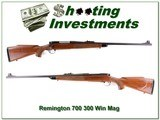 Remington 700 early Pressed Checkering 300 Win Mag
