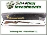 Browning 1885 Traditional Hunter in 45 LC NIB - 1 of 4