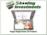 Ruger Single Seven 327 Federal 5.5in Stainless NIC