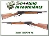 Marlin 1895 G 45-70 JM Marked nice wood