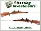 Remington 700 BDL Left Handed 26in 270 Win