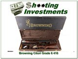 Browning Citori Grade 6 410 unfired in BOX with Case!