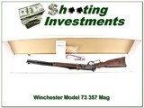 Winchester Model 1873 Short Rifle 357 Mag Case Hardened NIB - 1 of 4