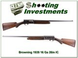 Browning A5 1939 Belgium made 16 Guage 26in IC