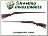 Remington 1889 10 Gauge made in 1904 32in barrels - 1 of 4