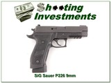 Sig Sauer P226 Tacops 9mm Exc Cond