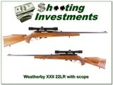 Weatherby XXII 22 Auto Italian made collector condition!